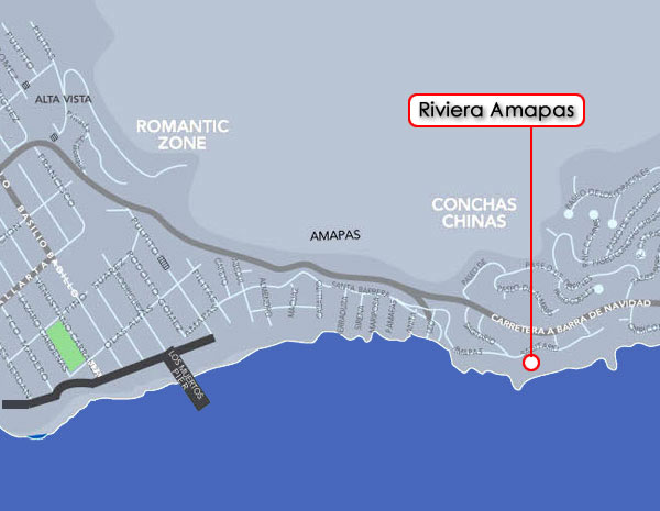 Riveria Amapas map